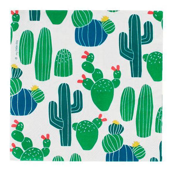 Par de 3 studio fiesta cactus